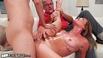 OutOfTheFamily Katie Kush Gets Drilled Hard In Front Of Her Pervert Stepdad