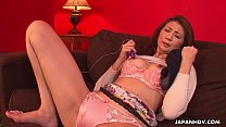 Asian milf has a sex toy session with her pussy - 69VClub.Com