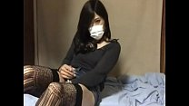 Quarantined Chinese Ladyboy very horny making some tokens