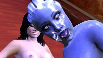 Mass Effect Threesome