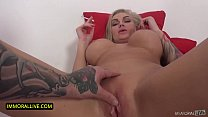 SMOKING HOT AMAZON SEX GODDESSES DEMANDS CREAMPIE - Huge Tits MILF Kayla Green Orgasms in POV