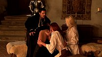 The king and his anal courtesans