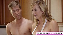 MomsTeachSex - Horny Mom Tricks Teen Into Hot Threeway Image