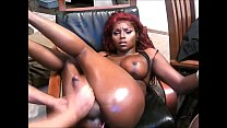 Shemale Ebony Babe - Handjob By Her Lover
