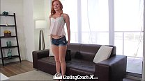 HD - CastingCouch-X Young redhead wants to be fucked on camera Vorschaubild