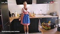 MyDirtyHobby - MILF gefickt at Oktoberfest wearing her sexy dirndl video