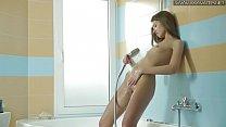 Vasilisa Viz new sexy masturbating shower scene
