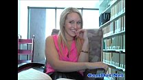 Webcam show in public school library 2 thumbnail