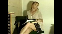 Blonde MILF farting while reading the newspaper On shittytube