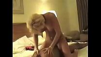 Image: Blonde Mature Riding BBC Hard