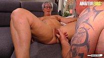 AMATEUR EURO - Amateur Housewife Brigitte T. Loves Neighbor's Cock Vorschaubild