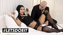 LETSDOEIT - (Adelle Sabelle, Christian Clay) - Tied Up Czech Teen Gets To Experiment With Sex Toys And Dominant BF