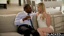 BLACKED Blonde fiance Jillian Janson gets huge bbc in her ass thumbnail