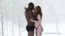 Ella Hughes Prefers Interracial Action To... thumbnail