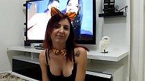 Percas pega Joy Cardozo assistindo video da Tigresa Vip e quer ser sua Tigresa e faz anal gostoso