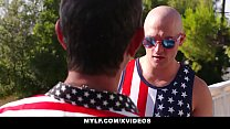 MYLF - Stepson Gets Fucked By Horny Mylf on July 4 video