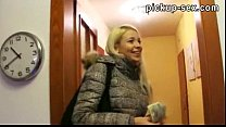 Real amateur blondie Czech girl Karol fucked with a stranger pornhub video
