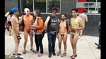 Sexy guys naked in Public