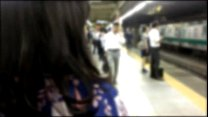 Real Groping In Japanese Train Summer Special With Yukata
