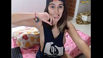 Colombian teen on cam Colombian broadcasting