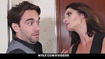 MYLF - Bossy Cougar Dominates Her Husband's Employee - 69VClub.Com
