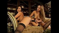 Couple of playful Asian hotties Avena Lee and Lani Kaluha like to doublesided dildo after going way down South in Dixie