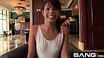 Gina Valenita is hopeful about her creampie audition with BANG!
