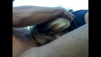 milf sucking and fucking a big cock outdoors on a mountain after slamming meth