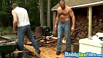Rough outdoor fuck with hunks Colby Keller and Arpad Miklos