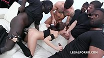 Masked Looters Vs Nicole Black Balls Deep Anal, Manhandle, Gapes, Facial GIO1323