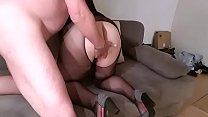 Dolores deepthroat, anal dildoing, drinking huge cumshot and pissing on that Bitch