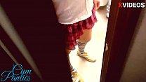 Teacher cum in my panties in the school toilet - 69VClub.Com
