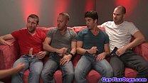 Rex Roddick and four pals suck on sofa