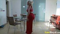 Curvy blonde Babe Cindy Dolar loves pleasing herself