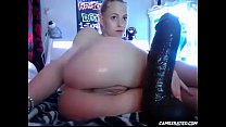 small girl and big cock 14inch BBC — my ChatRoom is www.girls4cock.com/siswet19 image