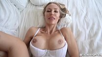 Hot Smoking mom takes her stepson into her bedroom and lets hims slam her milf horny pussy! صورة