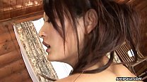 Gorgeous Asian brunette passionately sucks and ...