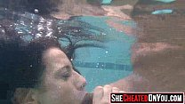 11 Massive  Cheating whores suck of stripper at cfnm party11
