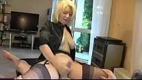 Mom Wanks Dad off in Stockings and Heels. See pt2 at goddessheelsonline.co.uk