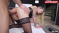 LETSDOEIT - (Isabelle Deltore & Luca Ferrero) Crazy Hot Anal Sex With A Craving Australian MILF