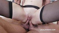 Horny Teen Luna Rival enjoys an anal gangbang with DAP & creampie Vorschaubild