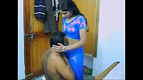 Desi Honeymoon Couple Sucking And Fucking porn image