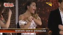 Image: Francisca Undurraga descuido en toc show