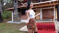 Hermosa Chica Colombiana Hace Su Primer Porno