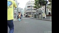 Subtitled Japanese public nudity striptease in Tokyo Vorschaubild