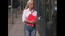 British College Slag Passes Exams By Letting Te...