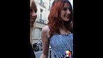 Alexandra et Laura: une blonde et une rousse baisées en club