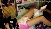 adultbaby diaper lover Putting On Diapers 101