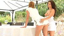 Victoria Daniels and Billie Star in lesbian scene by Sapphic Erotica