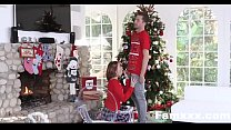 Step-Sis fucked me during family cristmas pictures| Famxxx.com preview image